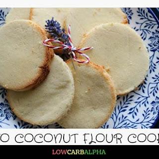 Low Carb Coconut Flour Cookies.