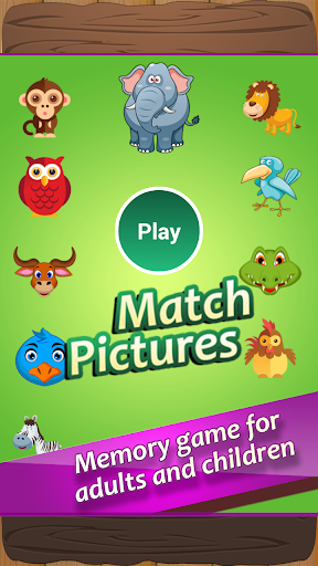 Match Pictures of Animals