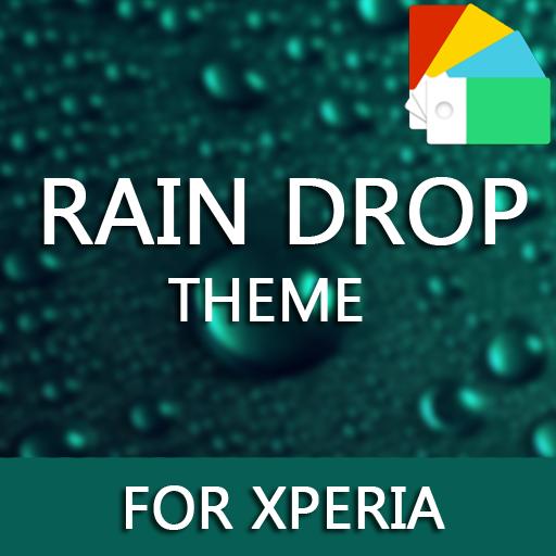 Rain Drops Theme for Xperia