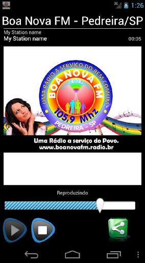 Boa Nova FM - Pedreira SP