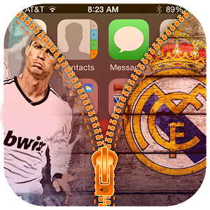 Real Zipper Madrid lock for PC