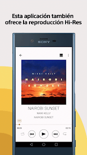 Sony | Music Center (SongPal): miniatura de captura de pantalla