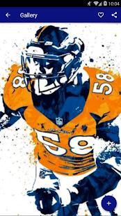 Von Miller Wallpaper HD NFL - náhled