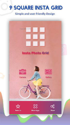 Download 9 square insta grid photo for Instagram on PC & Mac with