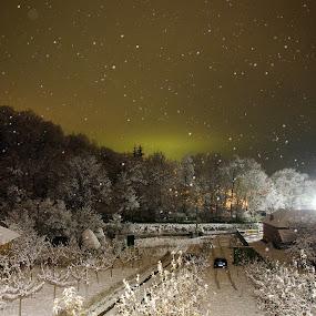 ©Adrian Mitu by Adrian Mitu - Travel Locations Landmarks ( lights, winter, snow, trees, tripod, landscape )