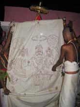 Photo: Dwajasthambha pradakshinam