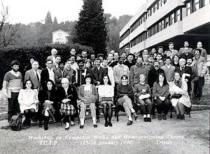 Photo: Homgenization Conference ICTP 1990
