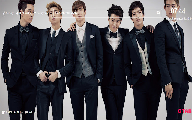 Wanna One kpop Wallpapers New Tab Theme