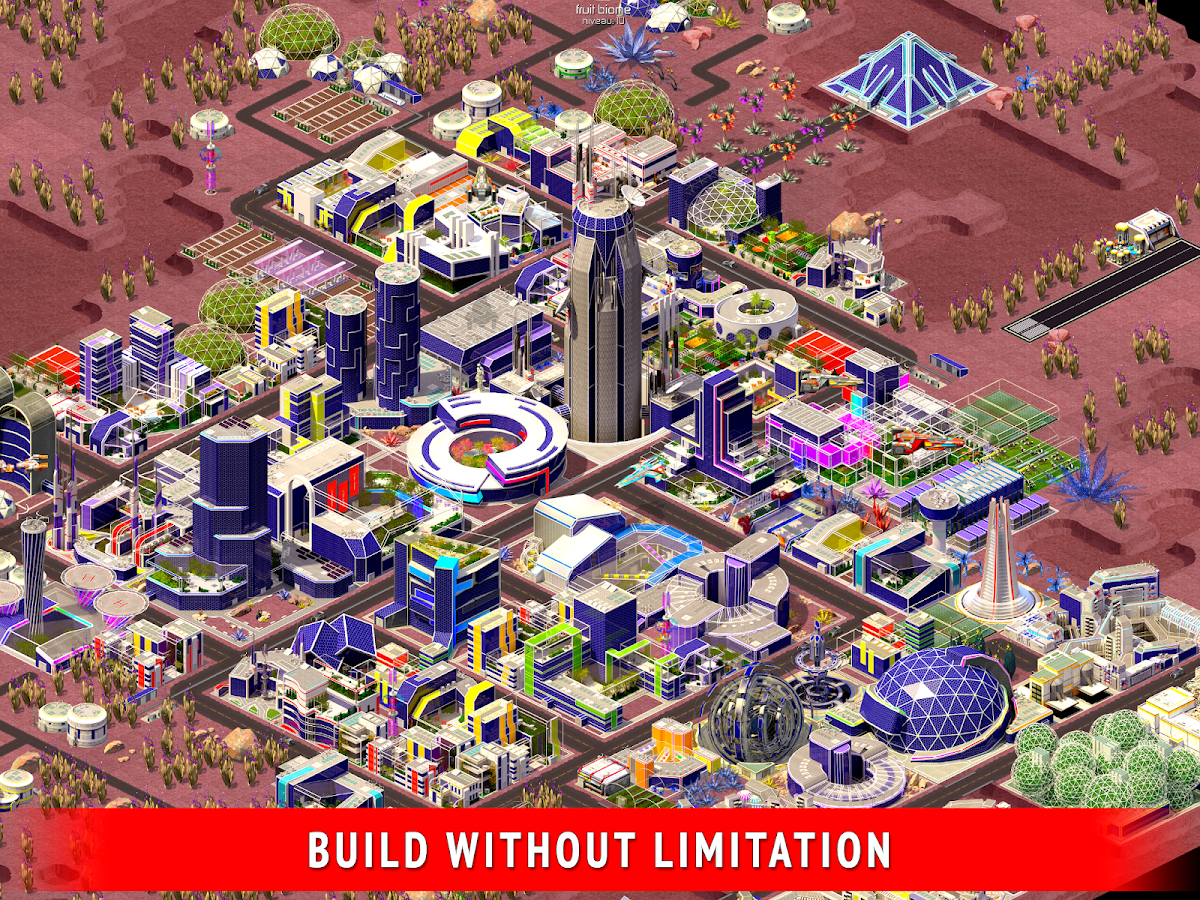 Space City: building game- screenshot