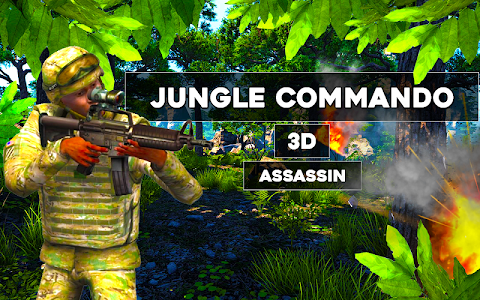 Jungle commando 3D Assassin v1.0 Mod Money