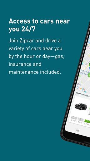 Zipcar screenshots 1