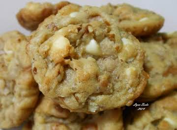 Salted Caramel White Chocolate Chip Cookies