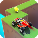 ZigZag Heroes - Vertigo Block Craft Kart Racing icon