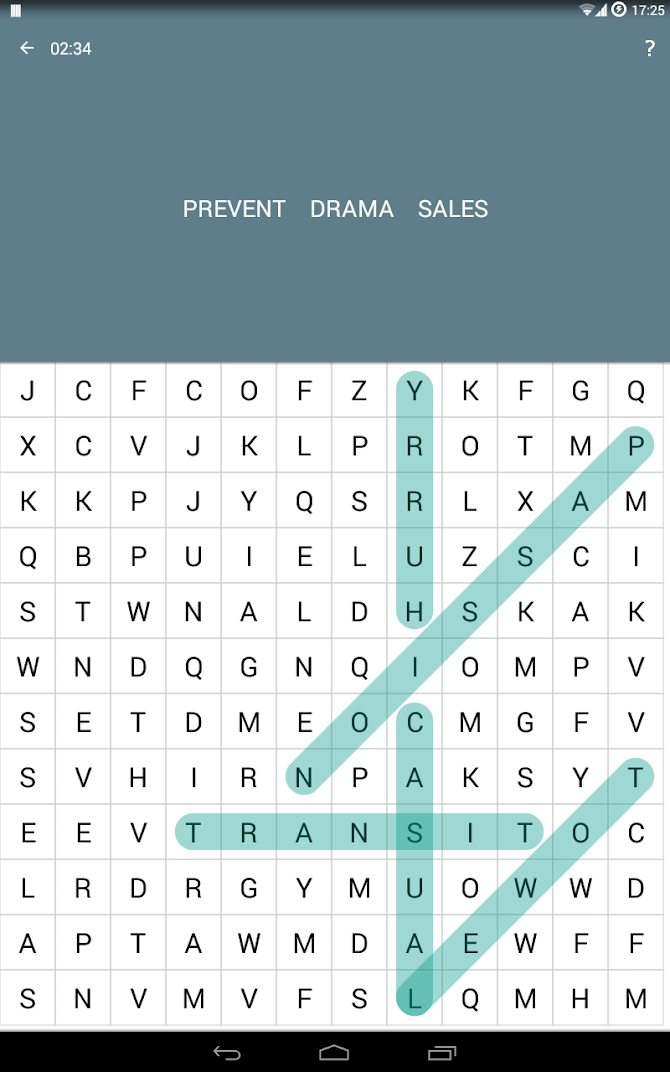 Word Search Android 8