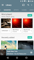 Screenshot of Shuttle+ Music Player