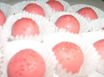 Oreo Peppermint Balls