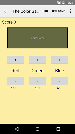 The Color Game