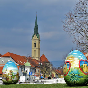 .... pisanice u isčekivanju toplijih zraka sunca...... by Katica Pecigoš-Kljuković - Public Holidays Easter