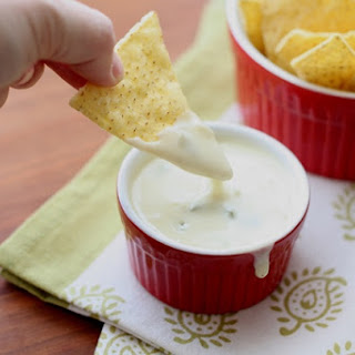 Queso Blanco Dip ~ Spicy White Cheese Dip.