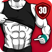 Six Pack in 30 Days - Abs Workout, Home Workout Icon