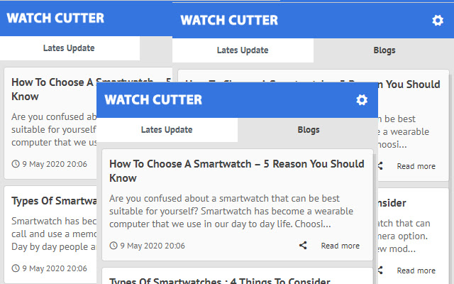 Watch Cutter - Latest News Update
