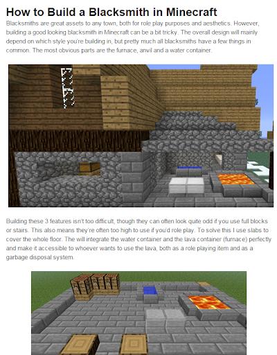 Builder idea for minecraft pe