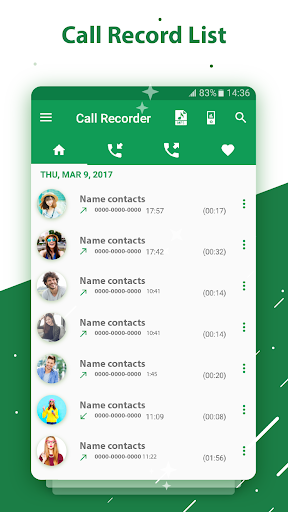 call recorder screenshots 1