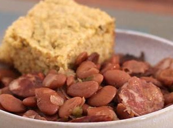 My Slow Cooker Pintos & Smoked Sausage Recipe