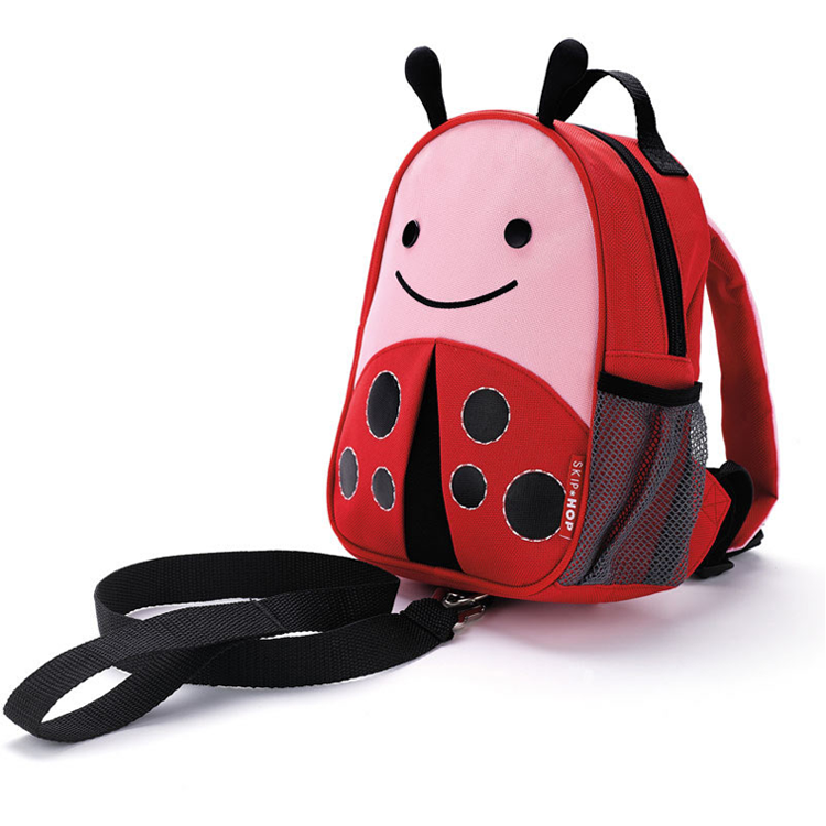 Skip Hop Zoo - Let Safety Harness Mini Backpack with Rein - Ladybug by GREEN WHEEL INTERNATIONAL SDN BHD