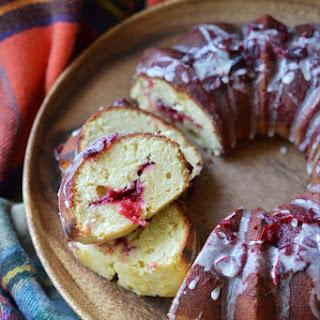 Cranberry & Beer Breakfast Bundt Cake.