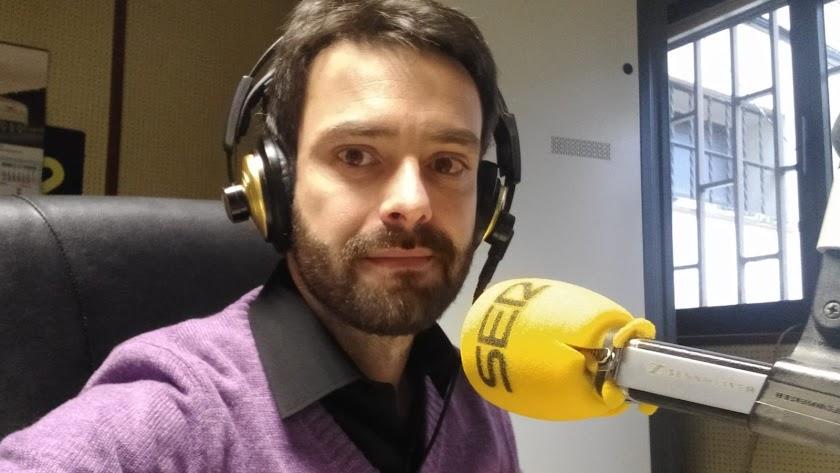 José Carlos San José, de la Cadena SER de Soria.