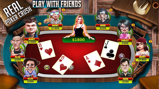 Real Poker Crush Texas Holdem Poker Online For Pc Windows 7 8 10 Mac Free Download Guide