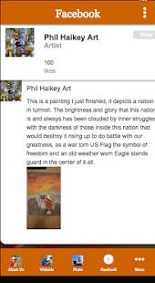 Phil Haikey Art - náhled