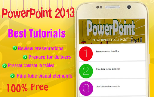 Learn MS PowerPoint 2013 P2