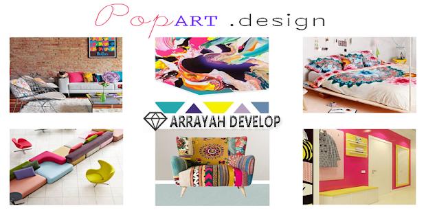 Pop Art Room Design - náhled