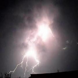 Light er up by Steve Valenzuela - Landscapes Weather ( amazing, lightning, bolt, awesome, storm )