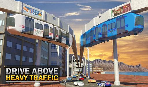 Elevated Train Driving Simulator: Sky Tram Driver apktram screenshots 18