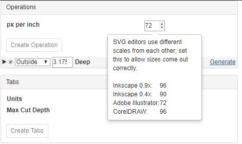IllustratorのSVGファイルは72dpi設定する