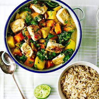 Tofu, Butternut & Mango Curry