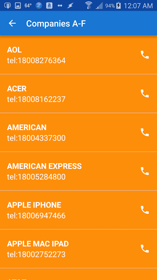 Support Caller 2- screenshot