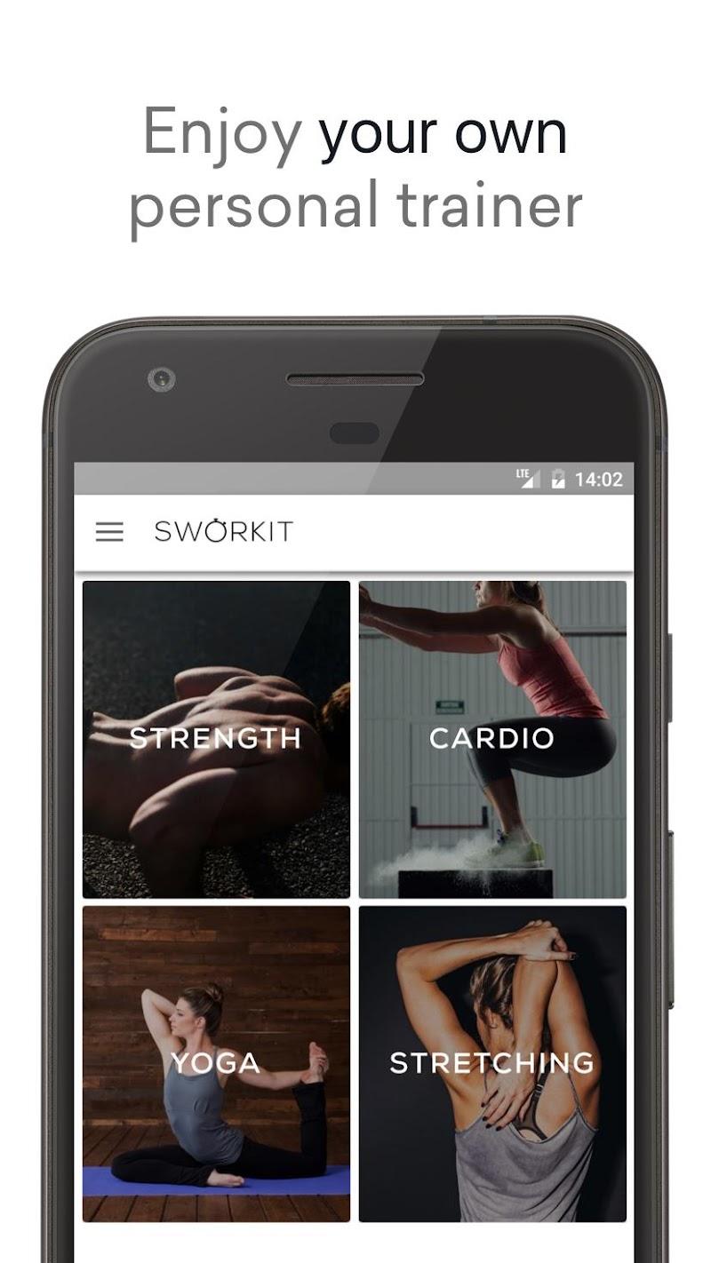 Sworkit: Workouts & Fitness Plans Screenshot 4