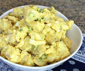Mum's Potato & Egg Salad