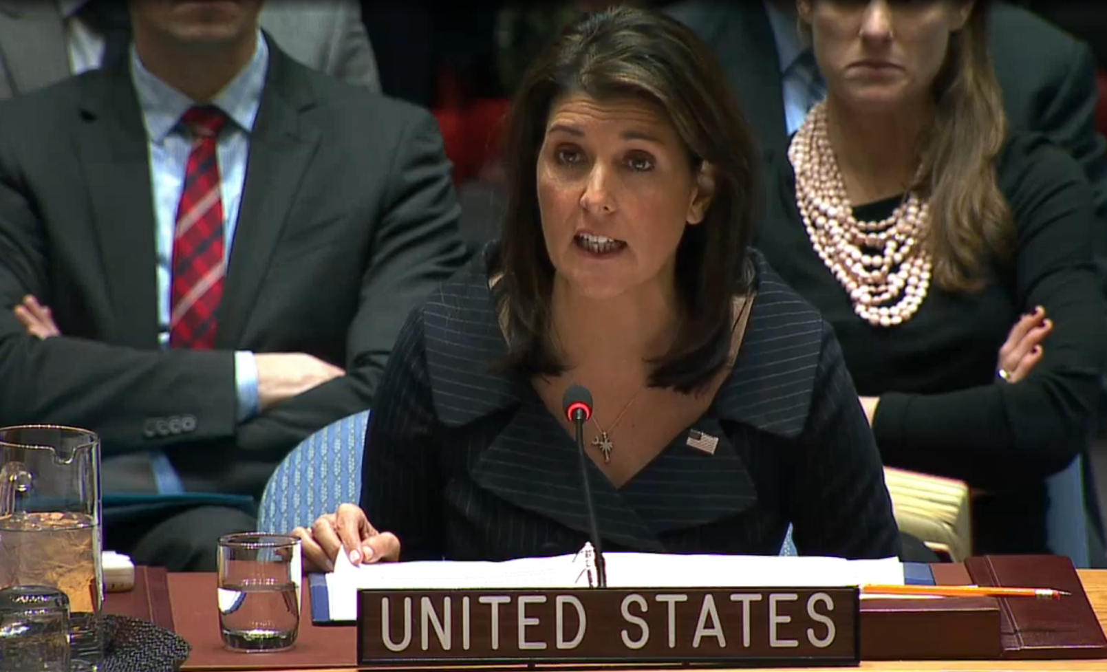 Nikki Haley blisters UN: Palestinians suffer because their leaders cling to 50-year-old demands