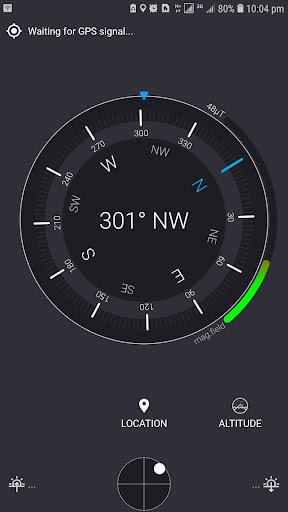 Compass Sensor with Smart Digital Compass Android screenshots 1