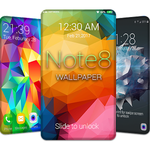 Note 8 wallpapers lock screen android apps on google play note 8 wallpapers lock screen voltagebd Image collections