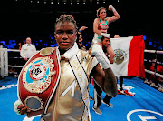 Nicola Adams after a  fight against Maria Salinas that was declared a draw.