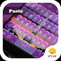 Love Paris Autumn Sky Keyboard icon