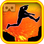 VR Lava Jumping for Cardboard