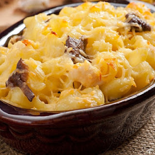 Fancy Macaroni And Cheese.