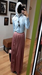 Trending Girl Hijab Photo Montage - náhled